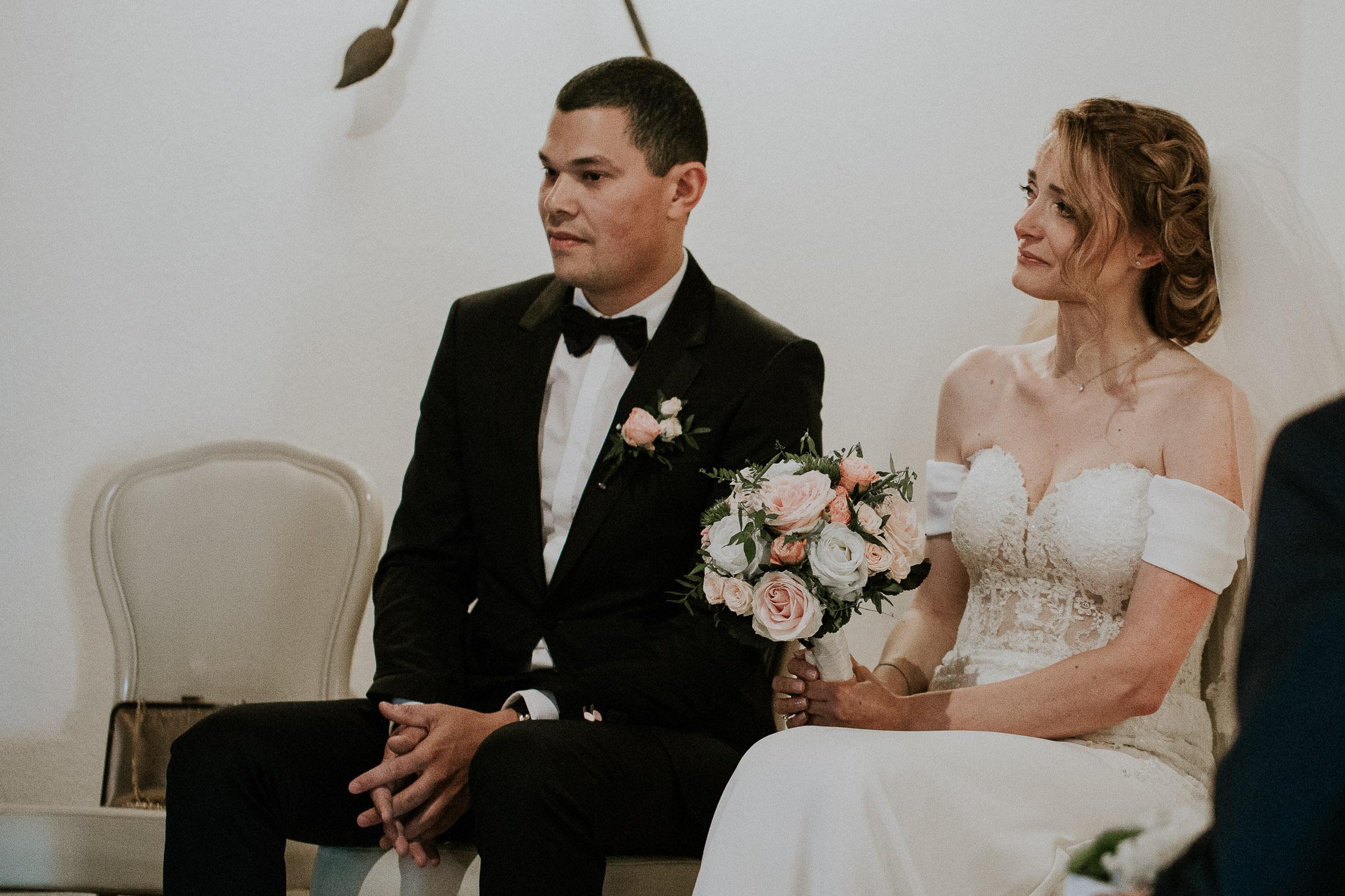 mariage porte des iris