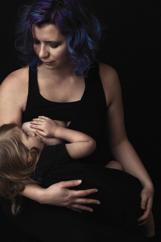 allaitement long et sevrage naturel de l'enfant